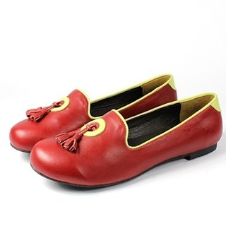 Red │ flow Sule Fu shoes