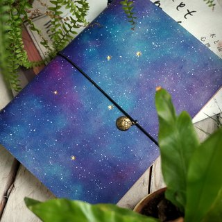 Series of Starry Night  - The Dust Jacket for A5 size Notebook - Light Style