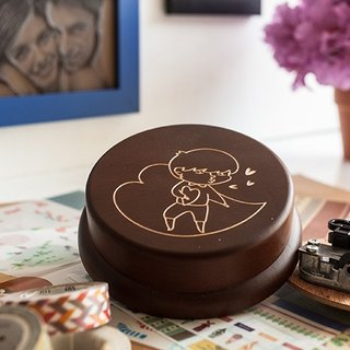 [Birthday Gifts, Commemorative Gifts, Christmas Gifts] Kissing Boys Customized // Music Box
