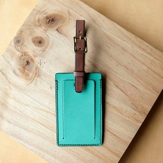 isni [luggage tag]  light-green desing/sweet design on your travel