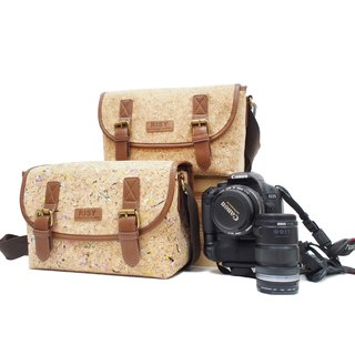 Cork Camera Bag / Shoulder / Messenger Bag