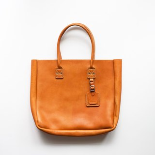 Billykirk leather tote 8oz Horween brown leather