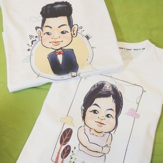 ★ GiftPaint ★ painted children playful & amp; customized portraits Kids T-Shirt [Single Price]
