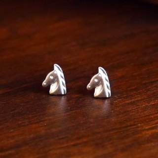 [Wild] Knight Rider series ─ guard guardian knight 925 sterling silver earrings
