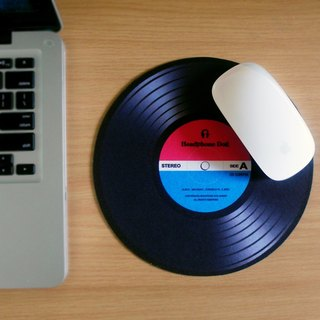 HeadphoneDog DJ scratch mouse-pad