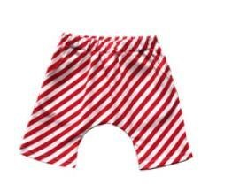 Red and white shorts provisions