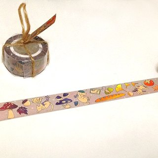 Pentagram ball / autumn cool just sleep paragraph - paper tape
