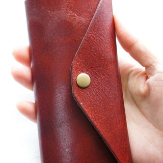 Multi-hook leather key bag (can be engraved)