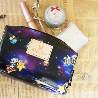 Law bucket cosmetic bag - space law fight