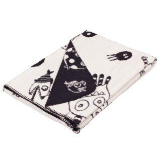 Fabulous Goose ultra-soft bristles blanket monster series - Underwater World (black)