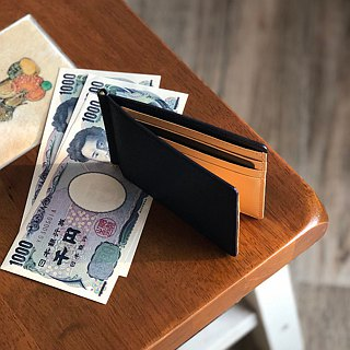 革職人 LEATHER FACTORY【Be Cord Money Clip Wallet / Bifold Wallet】Made in Japan