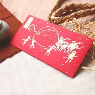 2016 Red Envelope Chinese Zodiac - Monkey (medium size)