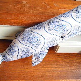 Small blue whale pattern - small blue whale 2