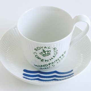 Royal Copenhagen stamp series cup Pack Logo