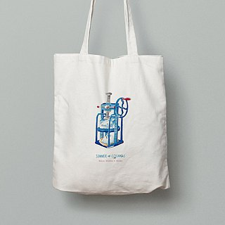 Cosmic Ice Series │ Ice Machine Canvas Tote