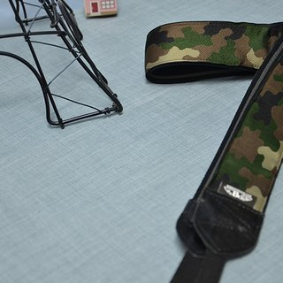 Camouflage Puzzle Decompression Belt Camera Belt Uke Lili Camera Strap