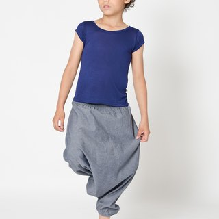Nordic organic cotton children's soft top dark blue