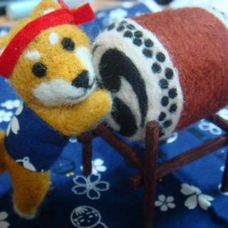 (On Hand) Custom Animal wool felt series (doll size)