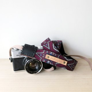 ENDORPHIN handmade camera strap (traveller collection- Vatican City)