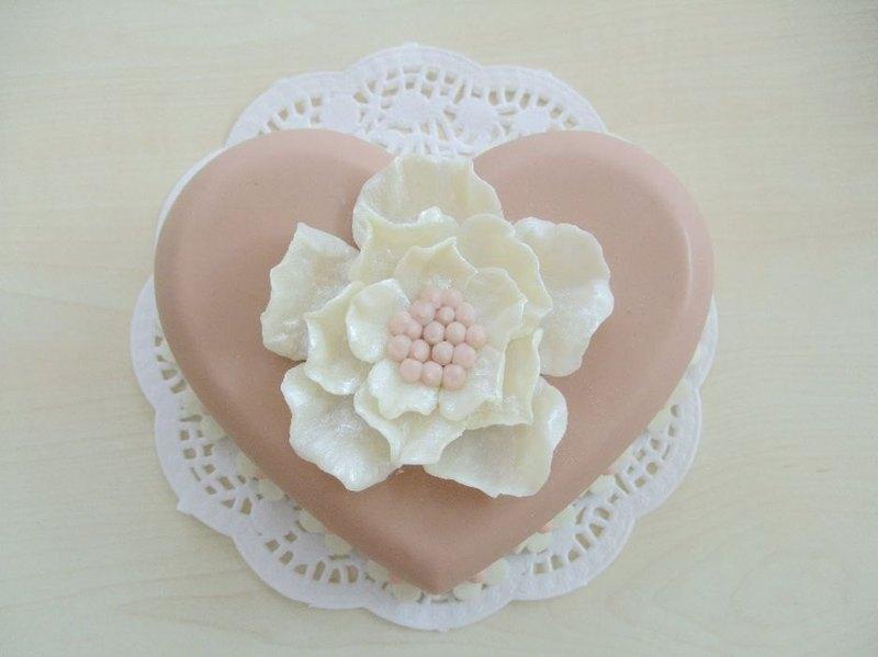 心動5吋蛋糕皂