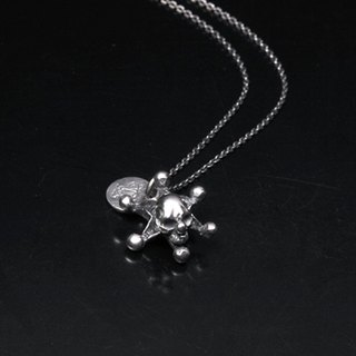 Joker skull_pendant | Clown necklace