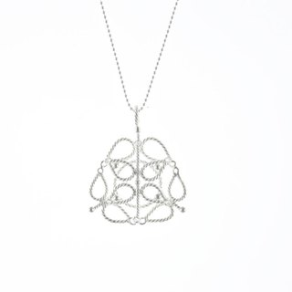 I-Shan13 | FlowerBox twisted wire necklace