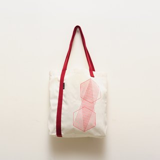 Asymmetric canvas bag