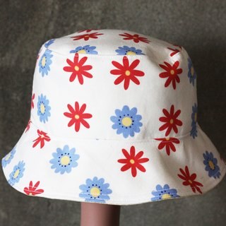 Small flowers fisherman hat
