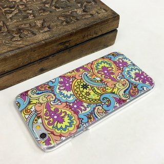 Paisley Color 1 Print Soft / Hard Case for iPhone X,  iPhone 8,  iPhone 8 Plus, iPhone 7 case, iPhone 7 Plus case, iPhone 6/6S, iPhone 6/6S Plus, Samsung Galaxy Note 7 case, Note 5 case, S7 Edge case, S7 case