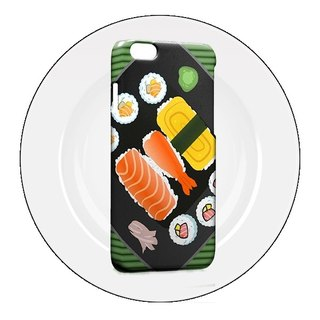 Sushi Pattern iPhone X 8 7 6s Plus 5s Samsung note S7 S8 S9 Mobile Shell