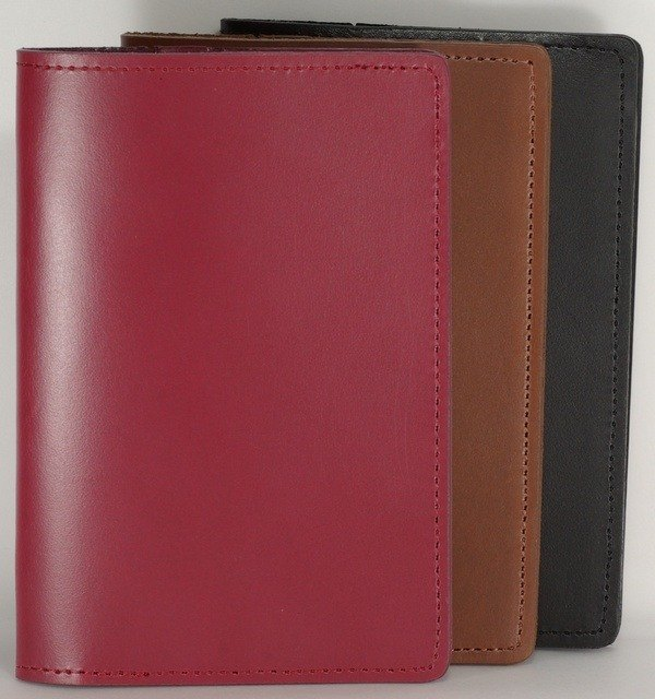 Passport holder passport set cowhide leather leather pay guest lettering service