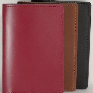 Passport Holder Passport Case Cowhide Leather Leather Charging Lettering Service
