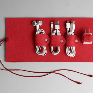 Wire storage package red