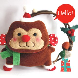 """Balloon"" Christmas Limited key sets - Banana Monkey"