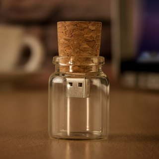 Message in a bottle shape flash drive 16GB