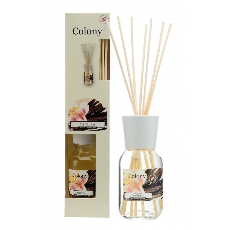 Wax Lyrical] [British Colony fragrance series - vanilla 120ml