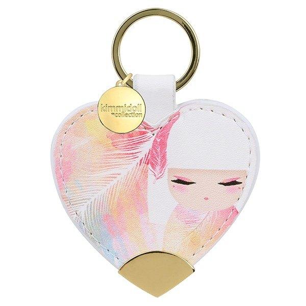 皮革鑰匙圈-Mizuyo 魅力活現【Kimmidoll 和福娃娃】