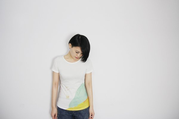 I . A . N Design mountains. River. Nestling organic cotton short-sleeved T Organic Cotton