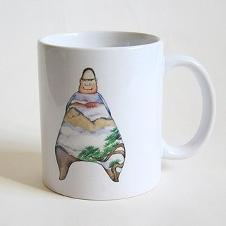 Fixed Mr. mountain coffee mugs / mug