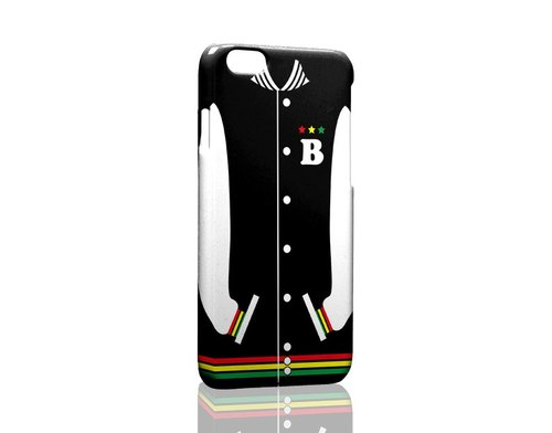 Black baseball jacket custom Samsung S5 S6 S7 note4 note5 iPhone 5 5s 6 6s 6 plus 7 7 plus ASUS HTC m9 Sony LG g4 g5 v10 phone shell mobile phone sets phone shell phonecase