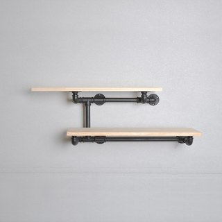 Industrial wind multifunction shelf _ Iron pipe style primaries F