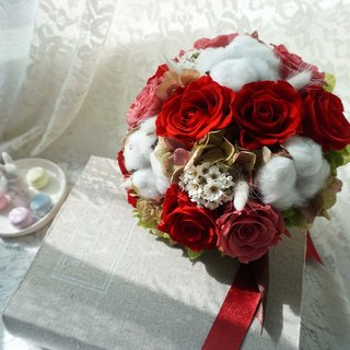 Preserved flowers immortalized flowers - dried bouquet*exchange gifts*Valentine's Day*wedding*birthday gift