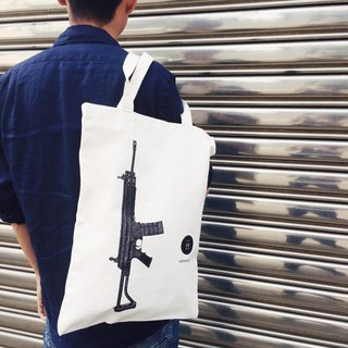 Guns / tote bag / canvas bag /