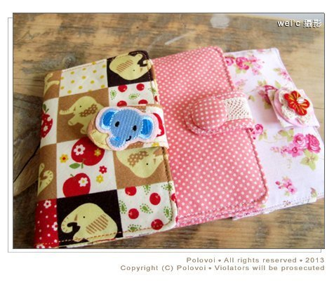 [Heart] accompany pure hand-made packet / Cotton bag