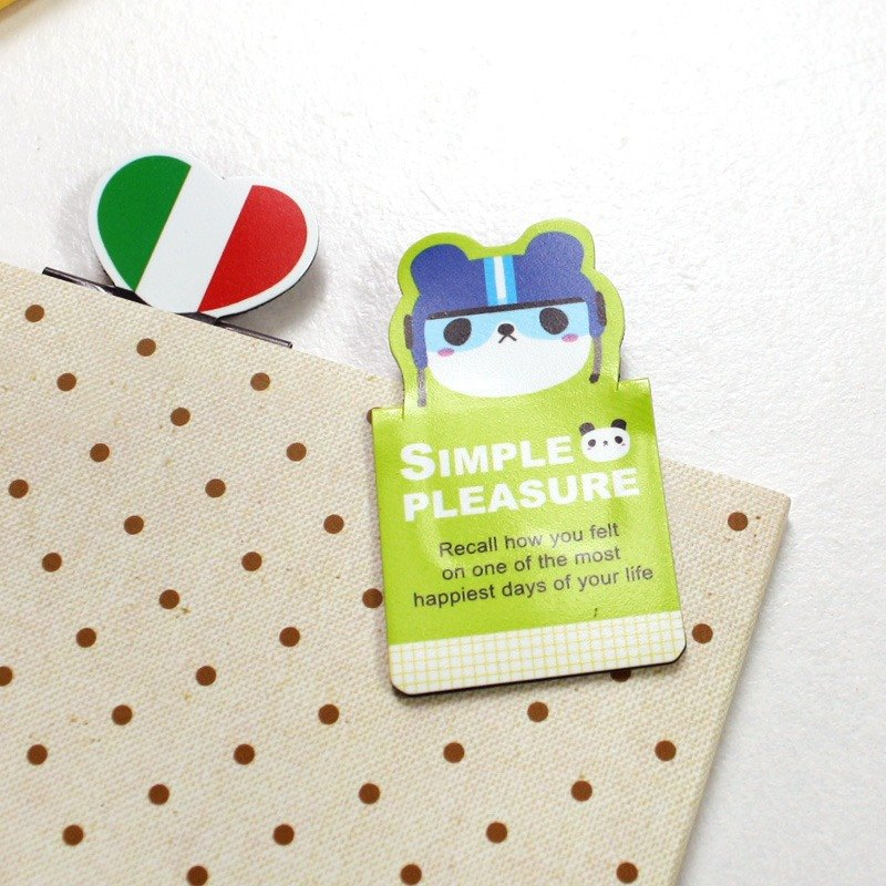 Lovely shape magnetic bookmark - European style