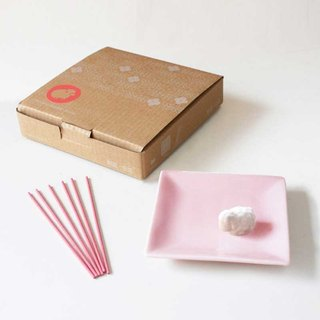 U-PICK original product life ceramic incense holder incense aromatherapy insert Gift Ram lamb dish gift