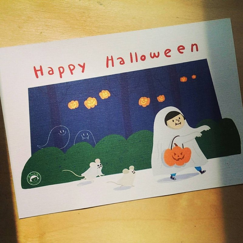 {FiFi holiday postcard} ★ Hello Halloween Hello Halloween ★
