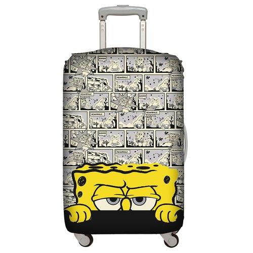 LOQI luggage jacket │ sponge baby cartoon L number