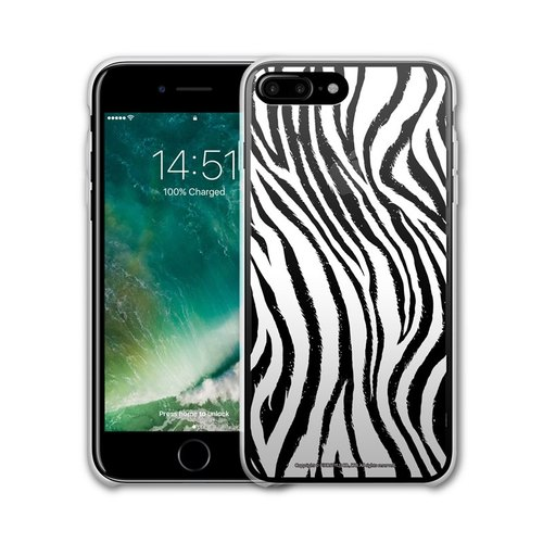 AppleWork iPhone 6 / 6S / 7/8 Plus Original Design Case - Zebra PSIP-184