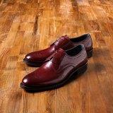 Vanger 優雅美型‧現代簡雅雕花德比仕鞋║Va164典雅棗紅